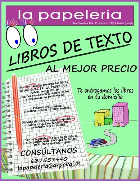 Libros de texto en Alcorcón