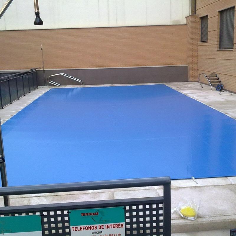 Manta térmica piscinas