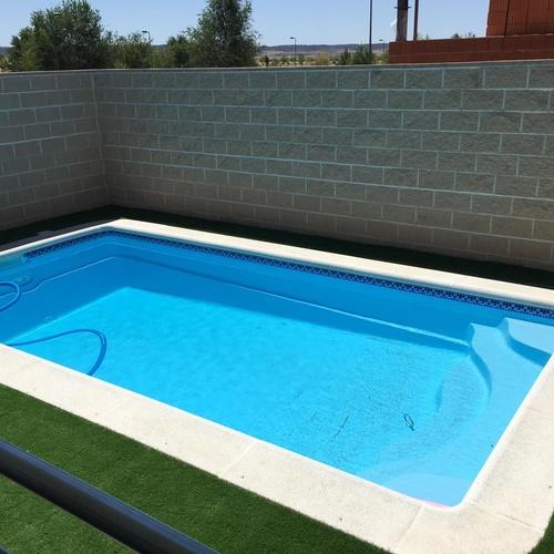 Bordes para piscina en Toledo