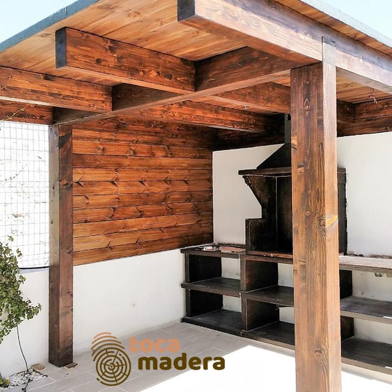 Barbacoa: Productos y materiales de Toca Madera