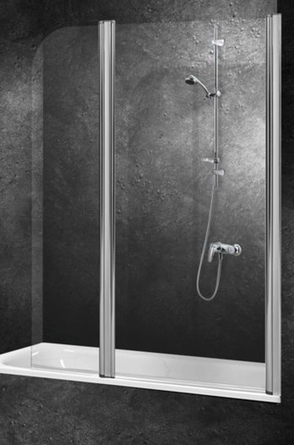 Mampara baño Optimus-Isis II (2 hojas abatibles)