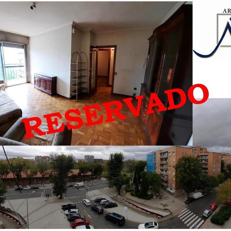 Piso en Fernando Poo 50, con terraza y vistas a Madrid Río:  de Vicente Palau Jiménez - Agente Inmobiliario