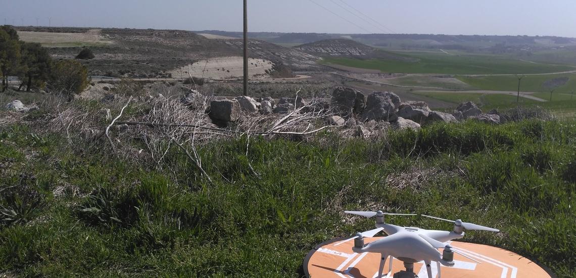 Fotografía y vídeos con drones en Valladolid