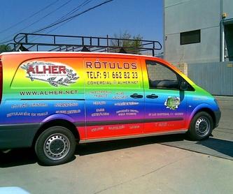 Todo tipo de Rótulos Luminosos para tu negocio.: Servicios de Alher