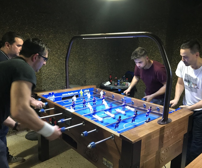 Futbolín tradicional