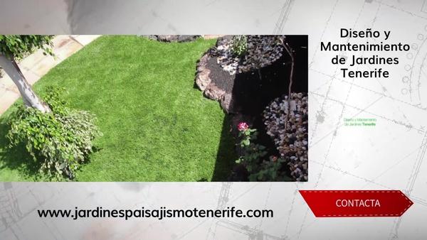 Mantenimiento de jardines Tenerife y trabajos de paisajísmo