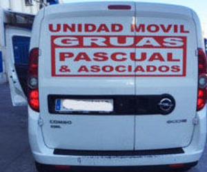Gruas Pascual. Asistencia en carretera Comunidad de Madrid