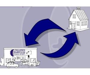 Servicio de recogida y entrega