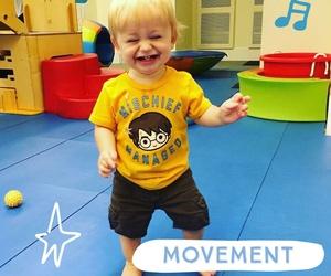 Niños en movimiento: La importancia del movimiento en los primeros tres año