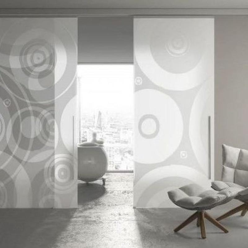 Murales: Productos de Cristalería Román