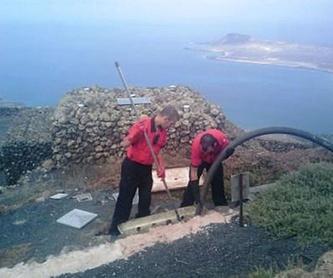 Limpieza: Servicios de Desatascos Timanfaya