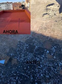 IMPERMEABILIZANTES  ELASTICOS  ( CAUCHO) EN C/ SARGENTO MORAGUES VIDAL DE PALMA DE MALLORCA