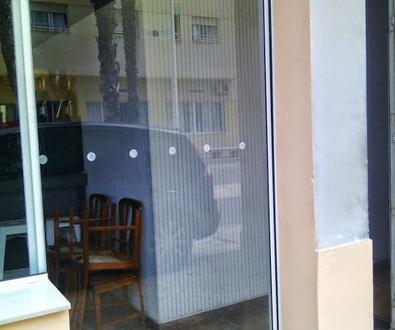 Puerta Corredera de Cristal automática Rápida de una hoja