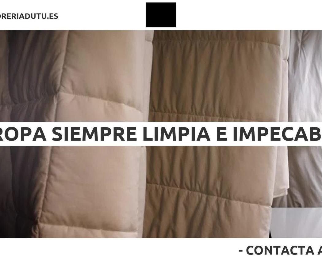 Limpieza de prendas delicadas en Tarragona | Tíntorería Dutú