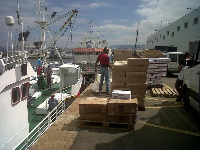 Proceso de pesca: Productos y servicios de Espamar