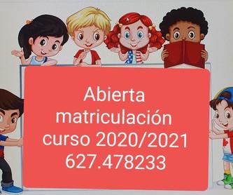 Menú del mes: Servicios de ESCUELA INFANTIL PEQUE-SOL, S.L.