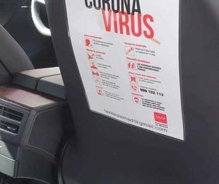 En el taxi Los peñascales tomamos medidas contra el COVID-19