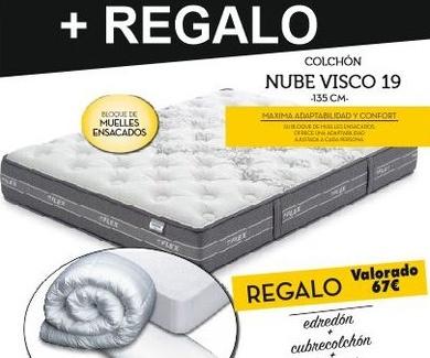 Oferta Colchón Flex Nube Visco en Bilbao