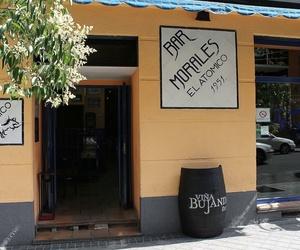 Bar Morales El Atómico, desde 1951 en Argüelles, Madrid