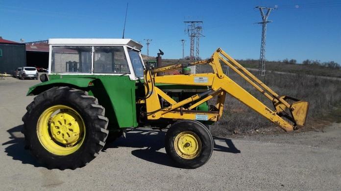 John Deere 1635: Nuestros tractores de Tractores José Carlos Martín
