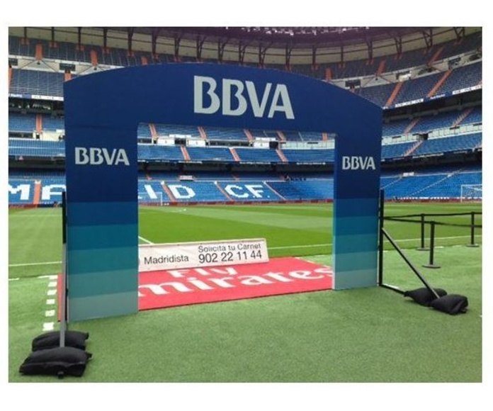 Arcos campos de fútbol salida de jugadores: NUESTROS SERVICIOS de Ciba Digital