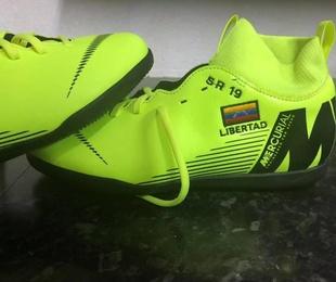 Personalización de botas de fútbol