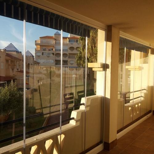 Cortinas de cristal en Málaga   Acristalamientos Diansa