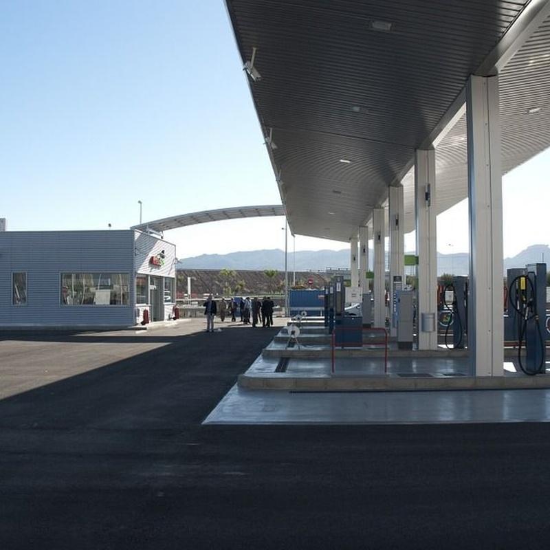Limpieza Depósitos de Gasóleo: Servicios de Instalaciones Petroliferas Hnos. López