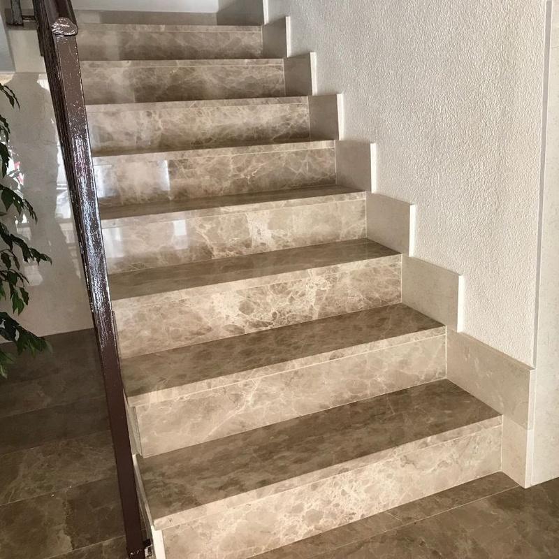 Escaleras: Productos y Servicios de Piñera Mármoles S.L