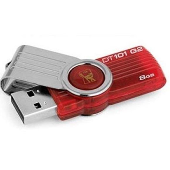Kingston DataTraveler DT101G2 8GB USB 2.0 Rojo : Productos y Servicios de Stylepc