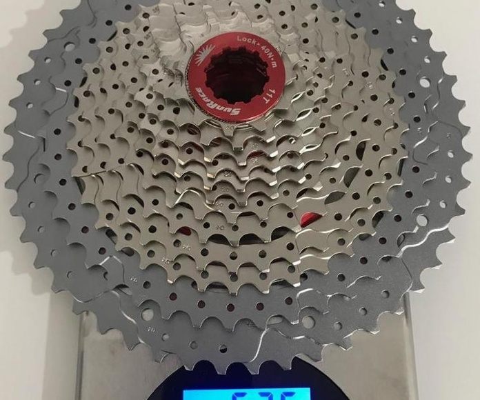 SUNRACE CASSETTE . 12 SPEED RELACION 11-50.  526 GRAMOS: Productos de Bultaco & Bike Doctor
