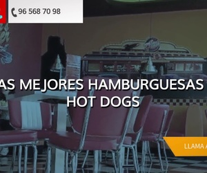 Restaurante hamburguesería en Elche: Car's Diner