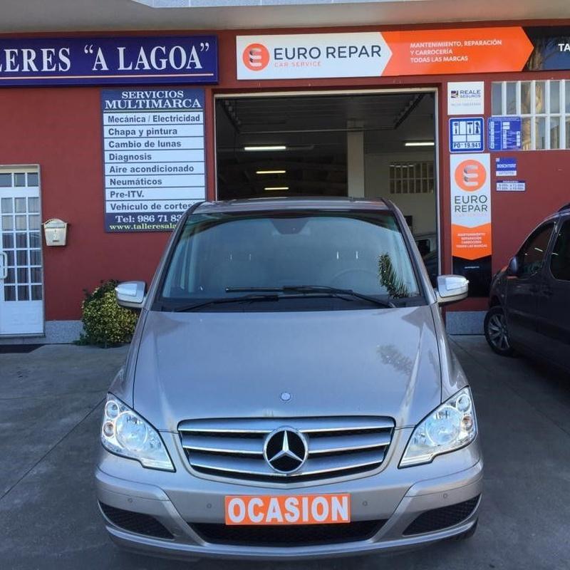 Mercedes Benz Viano Trend 2.0 CDI 136CV 7Plazas : Vehículos de ocasión de OCASIÓN A LAGOA