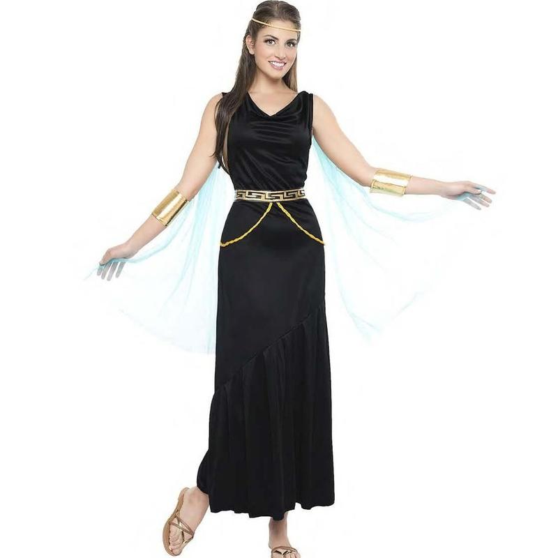 Disfraz griega negro