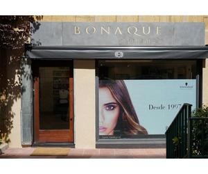 Fachada de la peluquería en Barcelona