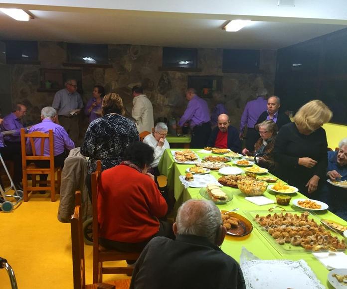 Celebración Castañada - Residencia tercera edad el Pinar