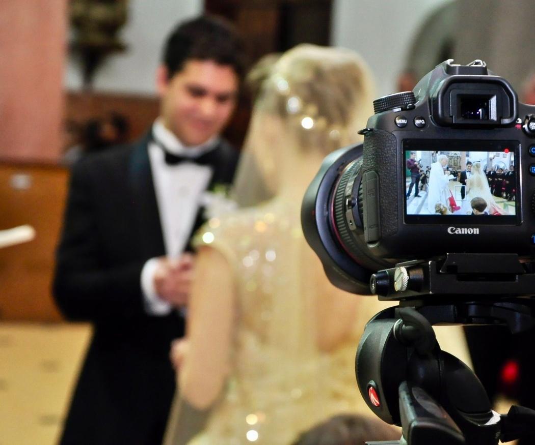 El equipo audiovisual en las bodas