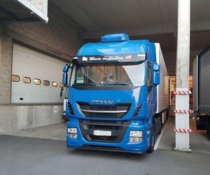 Transporte de mercancía delicada por carretera