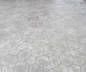 Piedra irregular, gris envejecido