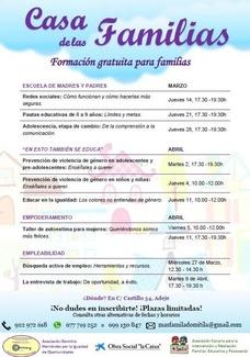 Formación  Gratuita para Familias