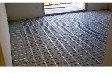 Calentamiento de suelo radiante por agua