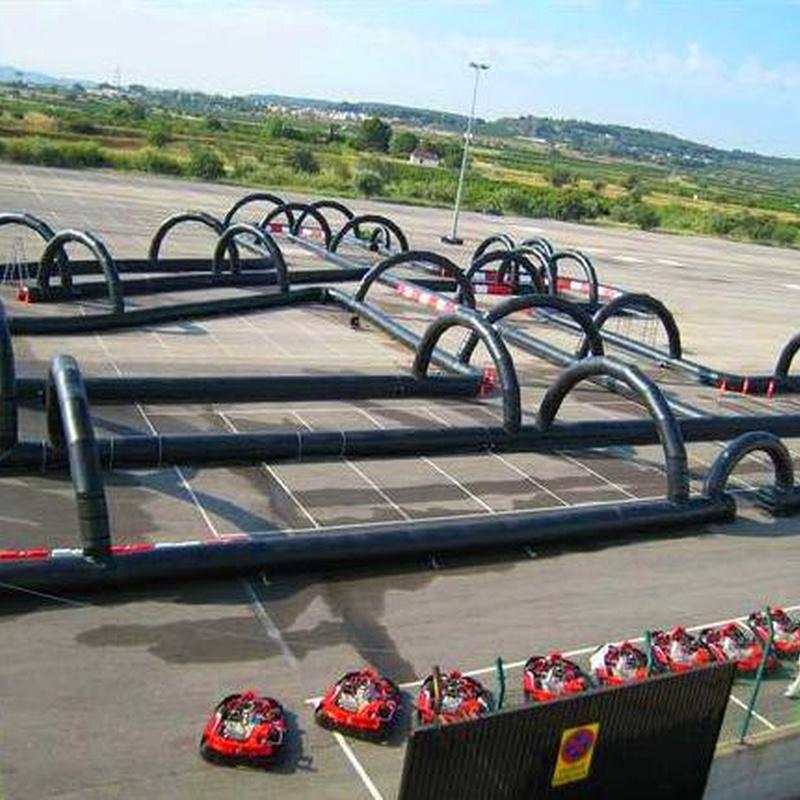 Circuito de Karts: Catálogo de Hinchables Happy Jump
