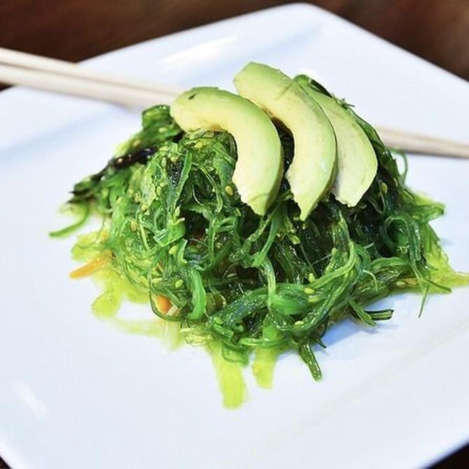 ¿Conoces el alga wakame?