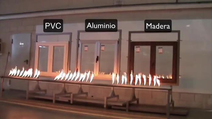 Test simulación incendio ventanas