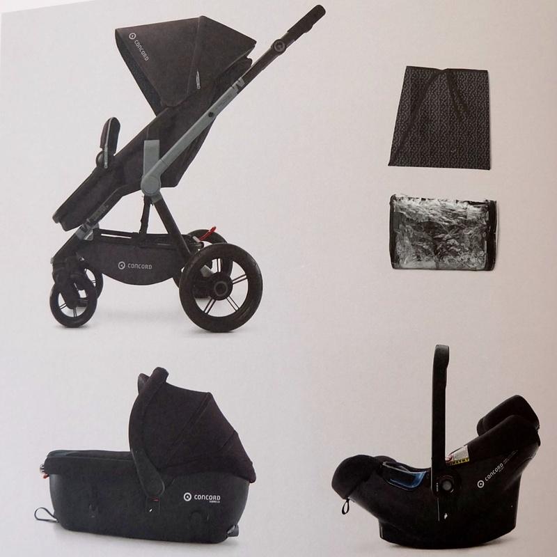 Wanderer porta bebes + capazo homologado para coche