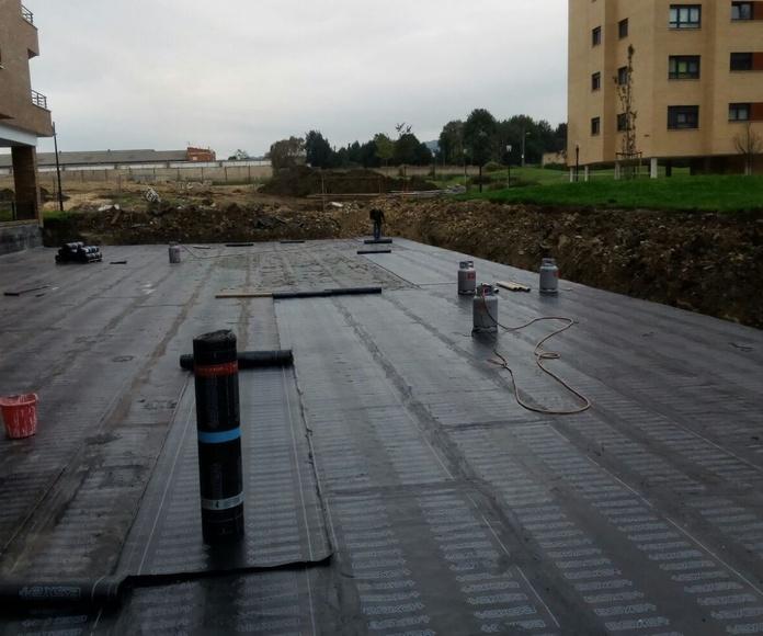 colocacion tela asfaltica villaviciosa