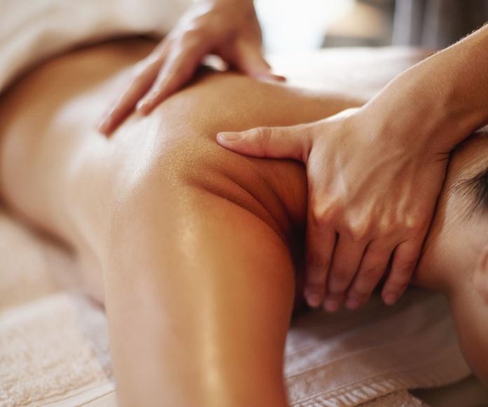 Masajes terapéuticos y estéticos: Servicios de Sano Soy Centro Médico Estético