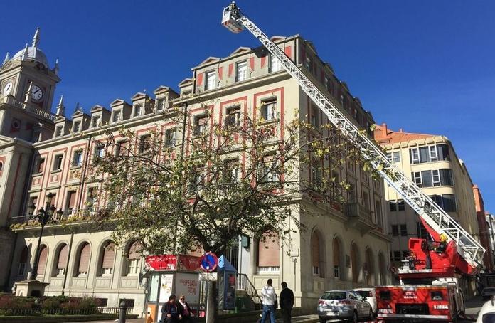 Revisión de las fachadas del Ayuntamiento