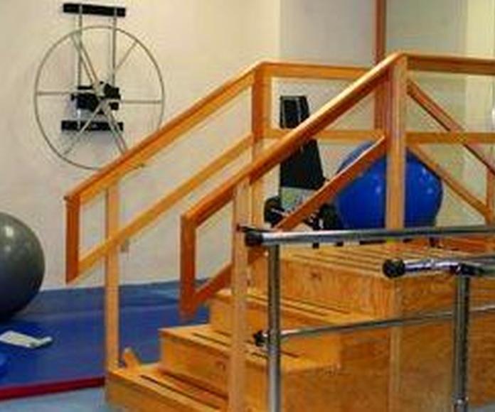 Servicio de rehabilitación: Servicios de Residencia Ntra. Sra. de la Estrella