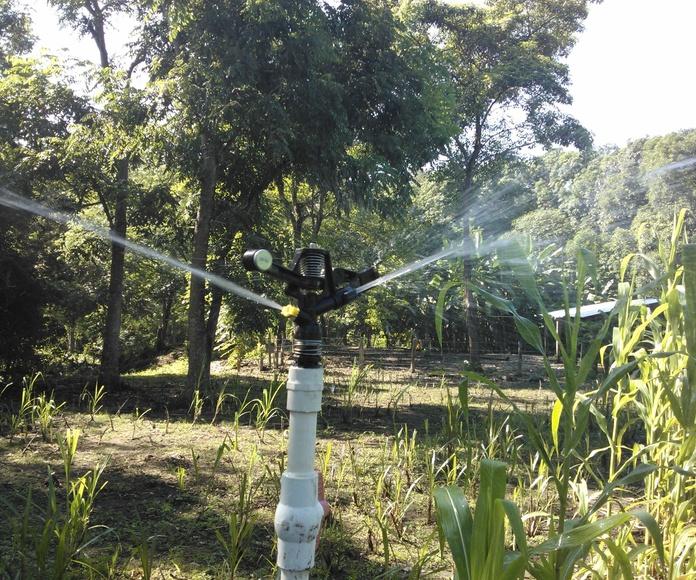 Zanjeos para instalaciones de riego: Servicios de Rafael Parra Magro Riegos y Servicios
